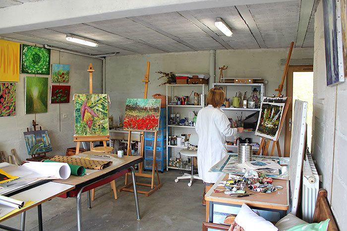 La chouette parenth se atelier dessin peinture - Atelier artiste peintre ...